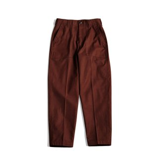 <追加予約>BAKER PANTS (BROWN)