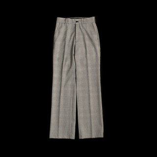 CENTER PRESS CHECK PANTS