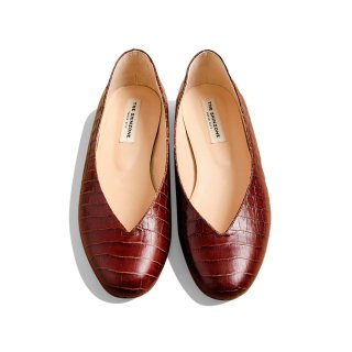 <WEB先行予約>V-CUT ROUND TOE SHOES
