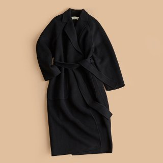 <WEB先行予約>DOUBLE WRAP COAT