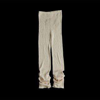 <WEB先行予約>COTTON RIB PANTS