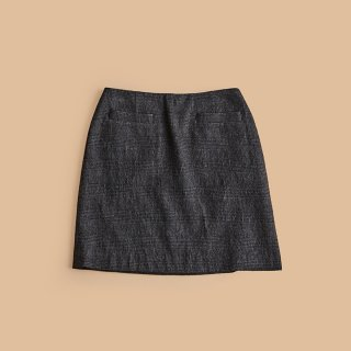 <WEB先行予約>CHECK MINI SKIRT