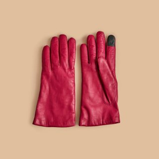 <WEB先行予約>MAISON FABRE LEATHER GLOVES