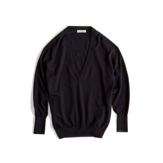 CO/CA V-NECK KNIT