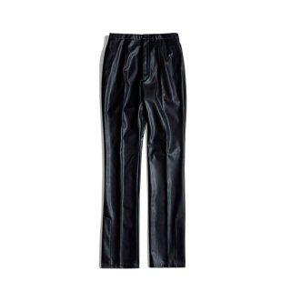 LEATHER SLIT PANTS