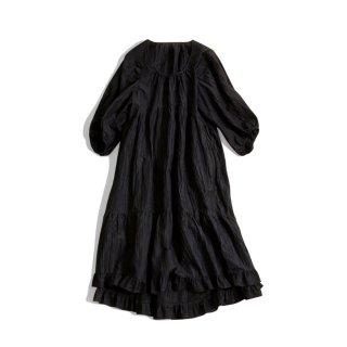 LINEN TIERED DRESS