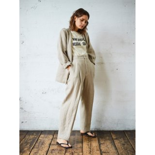ONE TACK LINEN PANTS