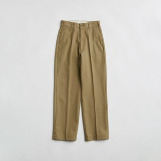 <WEB先行予約>HIGH WAIST CHINO PANTS