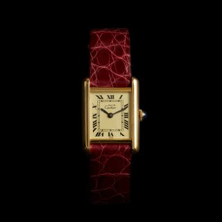 CARTIER MUST TANK VERMEIL