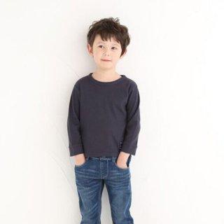 FUSEGU/Tシャツ・9分袖ワッフル素材