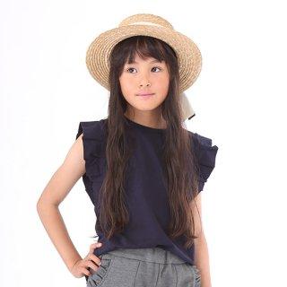 FUSEGU/親子ペアTシャツ・フリル袖