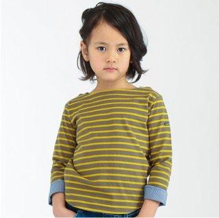 FUSEGU/ボートネック2配ボーダーTシャツ