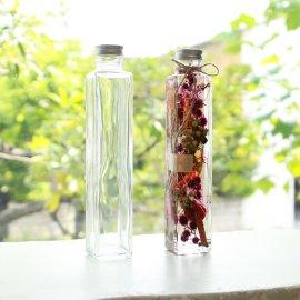 200mlガラスボトル:角柱