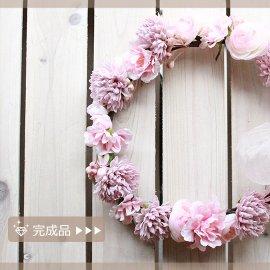 完成品●バンクシアローズの花冠