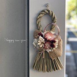 完成品●お正月しめ縄飾り