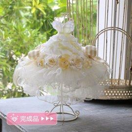 完成品●小さなミニドレス:チュール
