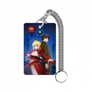 <img class='new_mark_img1' src='https://img.shop-pro.jp/img/new/icons15.gif' style='border:none;display:inline;margin:0px;padding:0px;width:auto;' />Fate/EXTRA Last Encore パスケース キービジュアル
