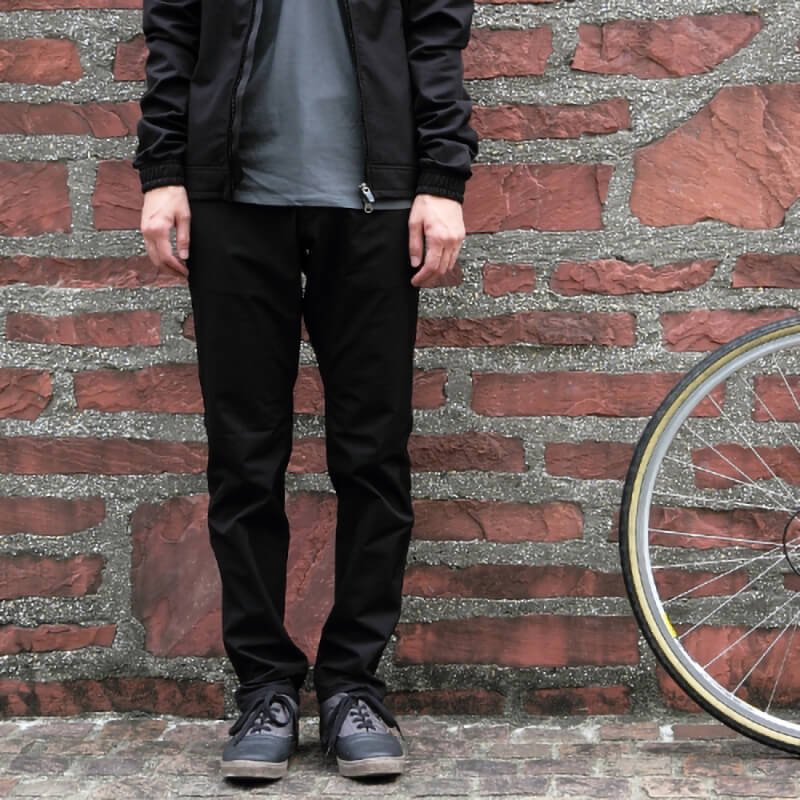 【swrve/スワーブ】 midweight wwr SLIM trousers (black)