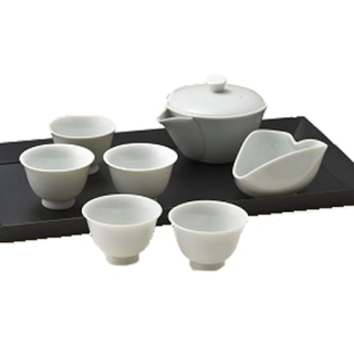 茶器セット  (宝瓶,湯呑,湯さまし)