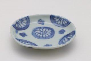 菊花文 豆皿 (大)