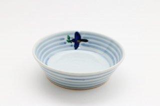 青い鳥 平小鉢