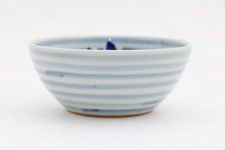 青い鳥 丸小鉢