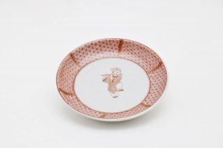 小皿 からこ文 -A