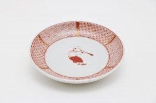 小皿 からこ文 -B