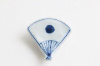 箸置 扇日の丸