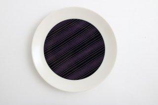 SEN プレート 7.5寸(紫)