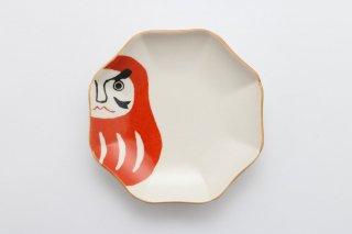 えんぎもの 小皿(だるま)/釉薬変更済み