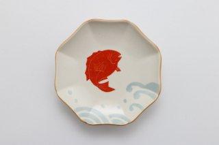 えんぎもの 小皿(鯛)/釉薬変更済み