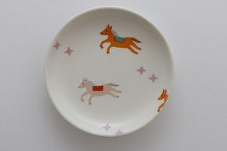 丸小皿(うま)