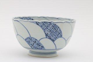菊花輪花鉢