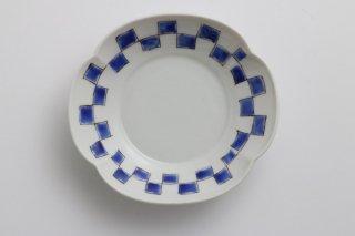モッコ3寸皿 4角柄