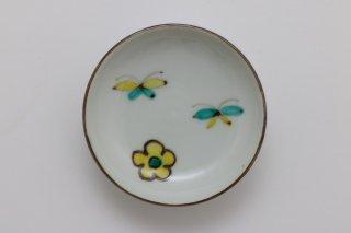 花と蝶 豆皿 - A