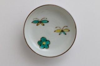 花と蝶 豆皿 - B