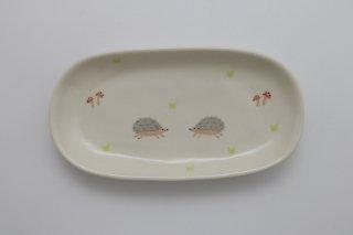 長皿(はりねずみ)/釉薬変更済み