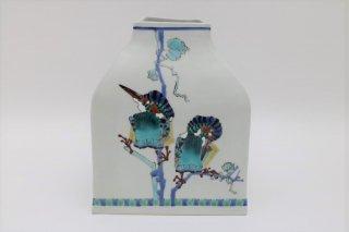 川蝉其々 扁形の瓶