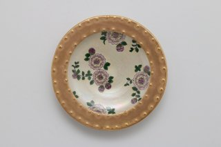 Wildflowers「リッピアのある庭」小皿