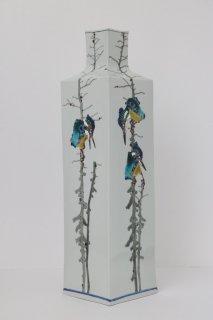 川蝉の風景 長角瓶