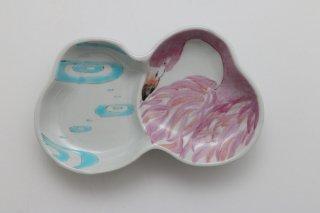 型皿 フラミンゴ