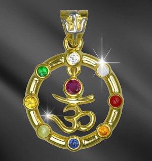 永遠の護符ナヴァラトナ 世界惑星宝石学会認定 アストラルタリスマン