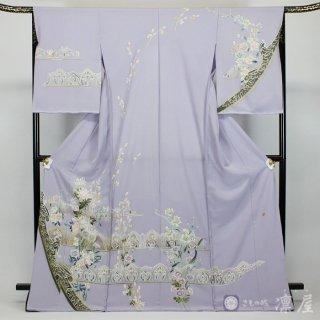 加賀友禅 訪問着 吉村伊佐子「中世幻想」