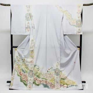 加賀友禅 訪問着 吉村伊佐子「オリエンタル憧憬」