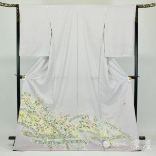 加賀友禅 色留袖 吉村伊佐子「飛鳥紋日時計」