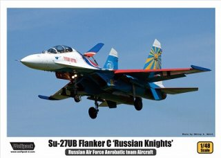 12060840e891f ...  ウルフパック  WP14801)1 48 Su-27UB フランカーC  Russian Knights  ...