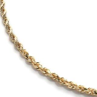 10K イエローゴールド ネックレス 46cm〜61cm SJ