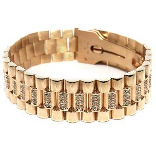 ダイヤモンド 14K イエローゴールド ブレスレット ※こちらの商品は海外取り寄せ商品の為3〜4週間前後の期間を頂きます