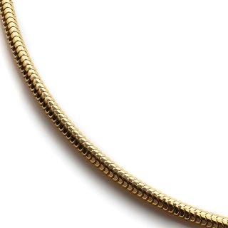 10K イエローゴールド ネックレス 46cm〜60cm